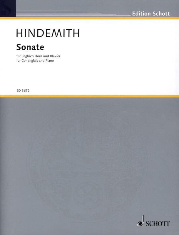 Paul Hindemith - Sonate - Englisch Horn Klavier - Partition - di-arezzo.com