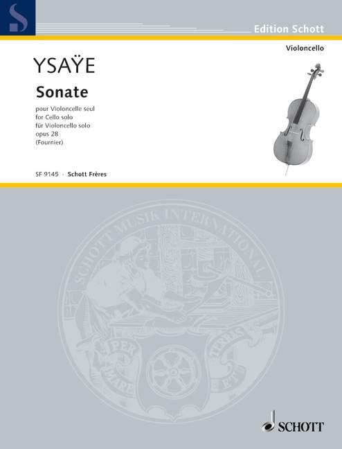 Eugène Ysaÿe - Sonata c-Moll op. 28 - Partition - di-arezzo.co.uk