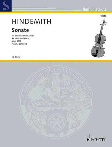 Sonate, op. 11 n° 4 - Paul Hindemith - Partition - laflutedepan.com