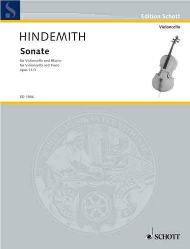 Sonate Op. 11 N° 3 - HINDEMITH - Partition - laflutedepan.com