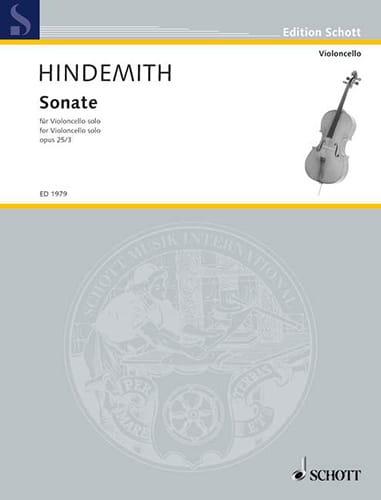 Sonate op. 25 n° 3 - HINDEMITH - Partition - laflutedepan.com