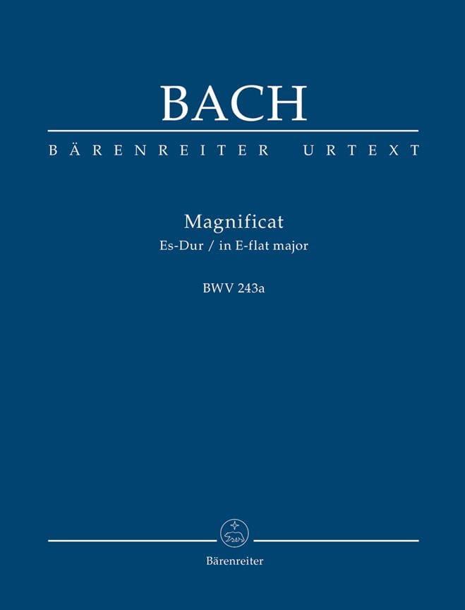 Magnificat Es-Dur BWV 243a - Partitur - BACH - laflutedepan.com
