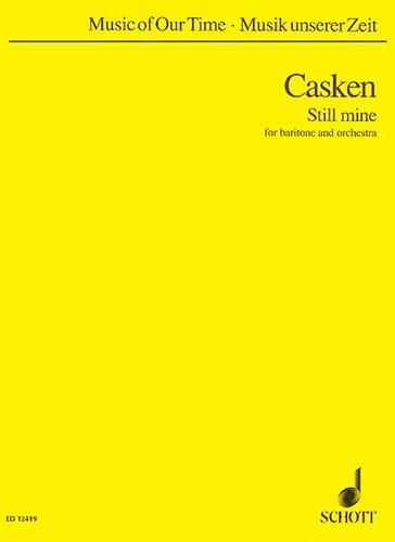 Still mine - John Casken - Partition - Grand format - laflutedepan.com