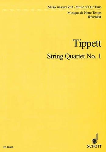 Michael Tippett - Cuarteto de cuerdas n ° 1 - Partitura - Partition - di-arezzo.es