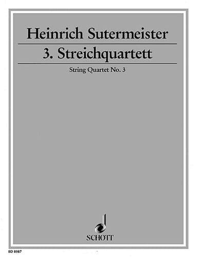 Streichquartett Nr. 3 -Stimmen - laflutedepan.com