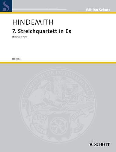 Streichquartett Nr. 7 1945 - Stimmen - HINDEMITH - laflutedepan.com