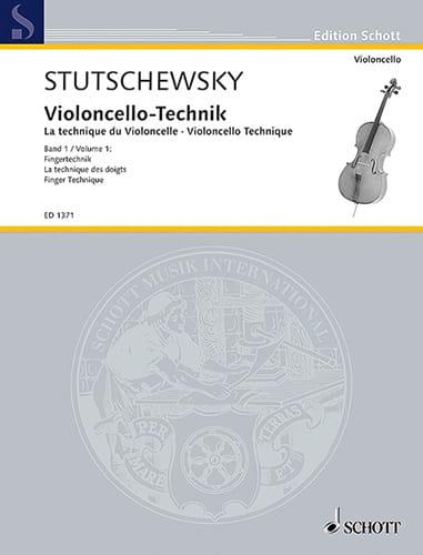 Joachim Stutschewsky - Violoncello-Technik - Volume 1 - Partition - di-arezzo.co.uk