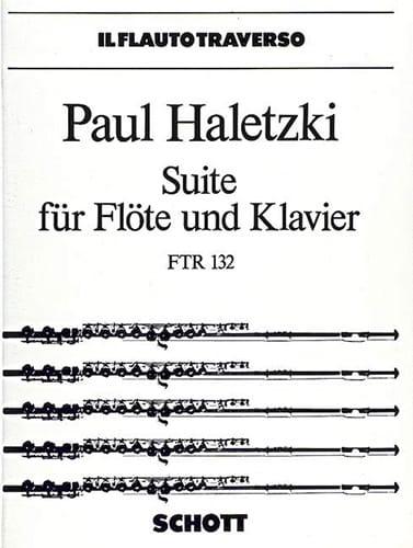 Suite für Flöte und Klavier - Paul Haletzki - laflutedepan.com