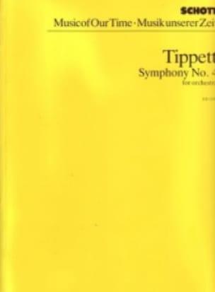 Symphonie n° 4 - Partitur - Michael Tippett - laflutedepan.com