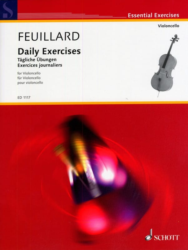 FEUILLARD - Daily exercises - Partition - di-arezzo.com