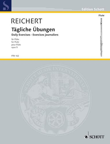 Tägliche Übungen op. 5 - Flöte - laflutedepan.com
