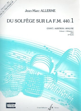 du Solfège sur la FM 440.1 - Chant Audition Analyse - PROFESSEUR - laflutedepan.com