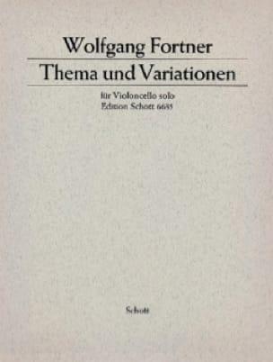 Thema und Variationen - Wolfgang Fortner - laflutedepan.com