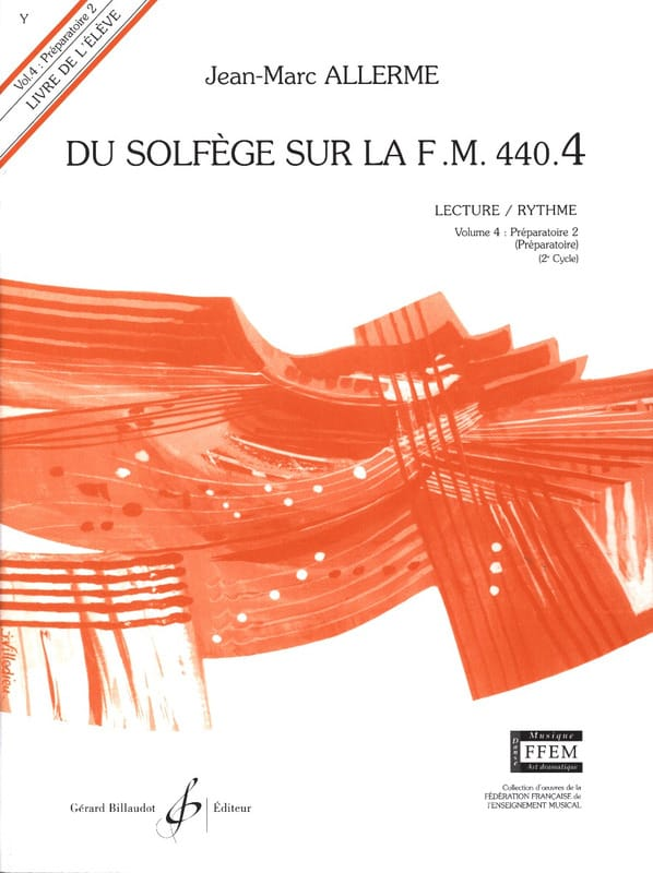 Jean-Marc Allerme - of the Solfeggio on the FM 440.4 - Play Rhythm - Partition - di-arezzo.co.uk