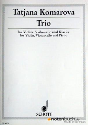 Trio -Violine Cello Klavier - Tatjana Komarova - laflutedepan.com
