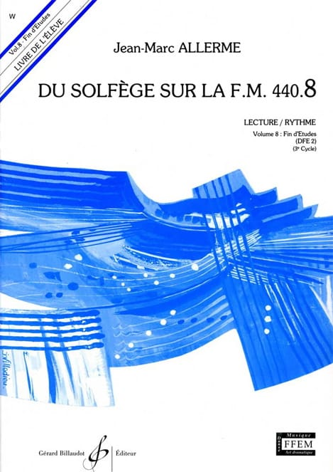 Jean-Marc Allerme - of the Solfeggio on the FM 440.8 - Play Rhythm - Partition - di-arezzo.co.uk