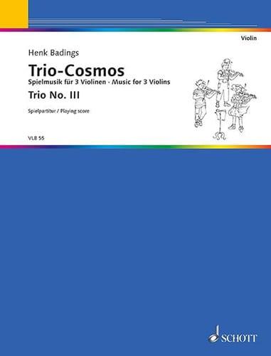 Henk Badings - Trio-Cosmos n ° 3 - Partition - di-arezzo.es