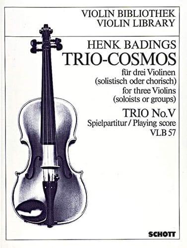 Henk Badings - Trio-Cosmos n ° 5 - Partition - di-arezzo.es