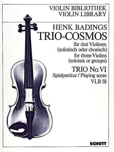 Henk Badings - Cosmos Trio n ° 6 - Partition - di-arezzo.es