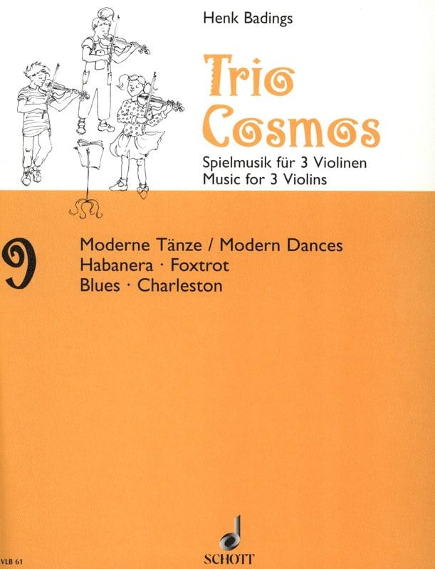 Henk Badings - Cosmos Trio n ° 9 - Partition - di-arezzo.es
