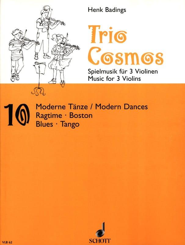 Henk Badings - Trio-Cosmos n ° 10 - Partition - di-arezzo.es