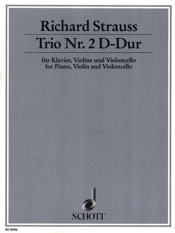 Trio Nr. 2 D-Dur -Klavier Violine Cello - laflutedepan.com