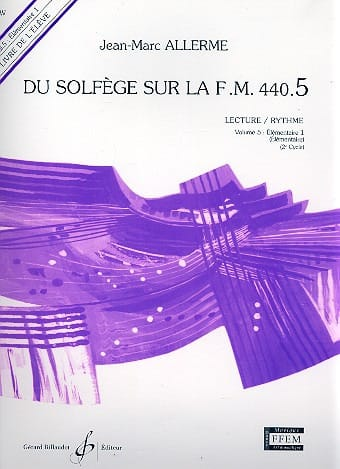 Jean-Marc Allerme - of the Solfeggio on the FM 440.5 - Play Rhythm - Partition - di-arezzo.com
