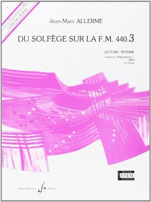 Jean-Marc Allerme - of the Solfeggio on the FM 440.3 - Play Rhythm - Partition - di-arezzo.co.uk