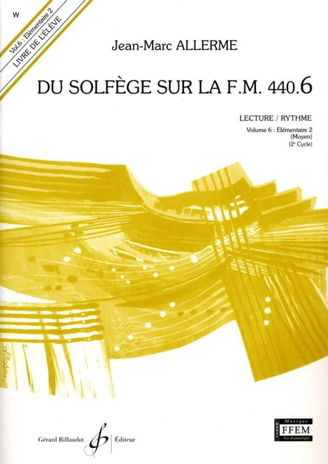 Jean-Marc Allerme - of the Solfeggio on the FM 440.6 - Play Rhythm - Partition - di-arezzo.co.uk