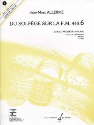 du Solfège sur la FM 440.6 - Chant Audition Analyse avec CD - laflutedepan.com
