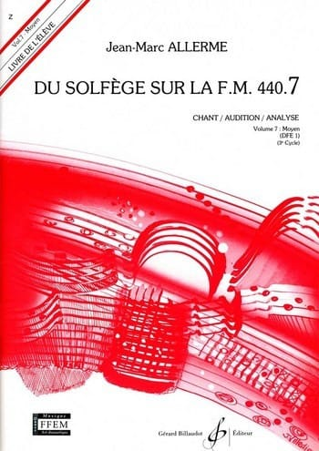 Jean-Marc Allerme - de Solfège en el FM 440.7 - Chant Audition Analyse - Partition - di-arezzo.es