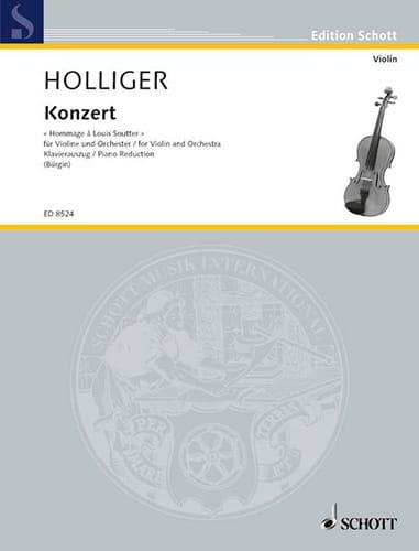 Concerto Hommage A Louis Soutter - Heinz Holliger - laflutedepan.com