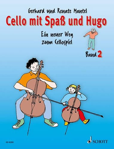 Cello mit Spass und Hugo - Bd 2 - laflutedepan.com
