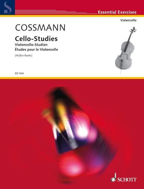 Violoncello-Studien - Bernhard Cossmann - Partition - laflutedepan.com