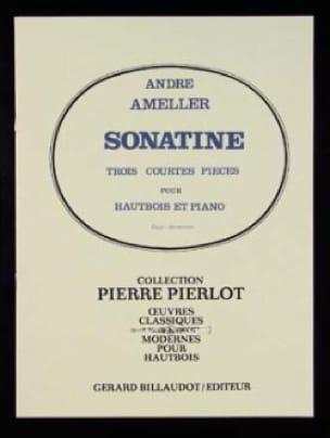 Sonatine - André Ameller - Partition - Hautbois - laflutedepan.com