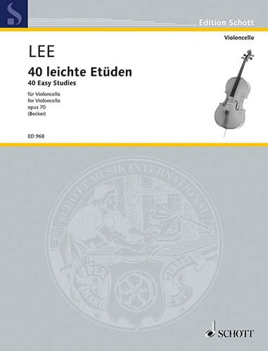 Sebastian Lee - 40 Leichte Etüden op. 70 - Partition - di-arezzo.co.uk