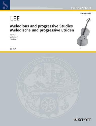 Sebastian Lee - Melodische und progressive Etüden op. 31 - Heft 2 - Partition - di-arezzo.co.uk