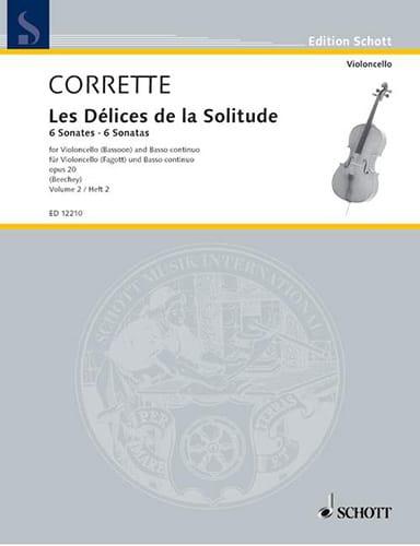 6 Sonates Op.20 Vol.2 - CORRETTE - Partition - laflutedepan.be