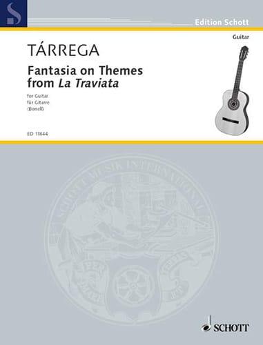 Francisco Tarrega - Fantasie - Partition - di-arezzo.com