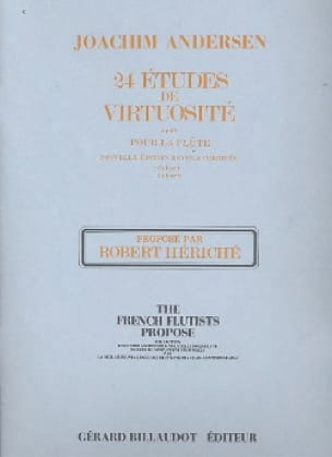 Joachim Andersen - 24 Virtuosity Studies op. 60 - Volume 1 - Partition - di-arezzo.co.uk