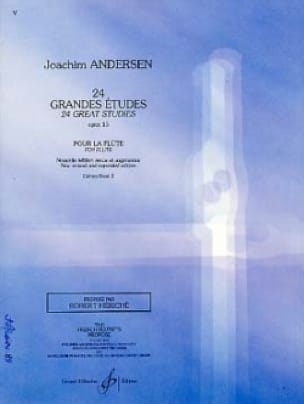 Joachim Andersen - 24 Major studies op. 15 - Volume 2 - Partition - di-arezzo.co.uk