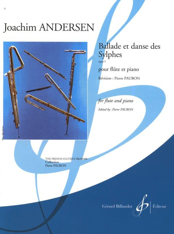 Joachim Andersen - Ballade et Danse des Sylphes op. 5 - Partition - di-arezzo.fr