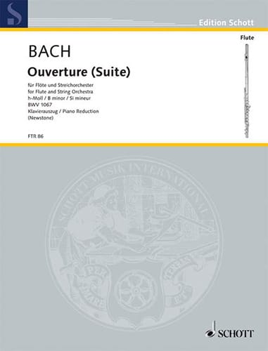 BACH - Opening Suite h-moll BWV 1067 - Flöte Klavier - Partition - di-arezzo.co.uk