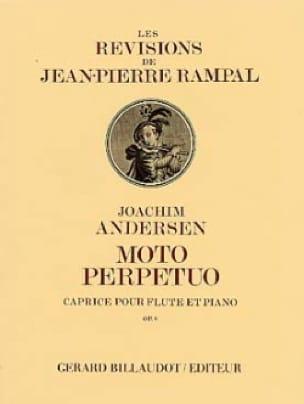Joachim Andersen - Moto perpetuo op. 8 - Partition - di-arezzo.fr