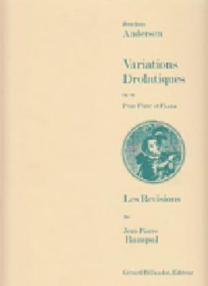 Joachim Andersen - Dramatic variations op. 26 - Partition - di-arezzo.co.uk