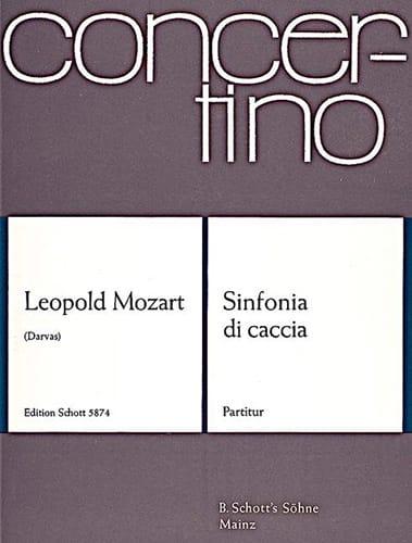 Sinfonia di caccia - Partitur - Leopold Mozart - laflutedepan.com