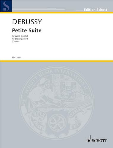 DEBUSSY - Small suite - Bläserquintett - Partition - di-arezzo.co.uk