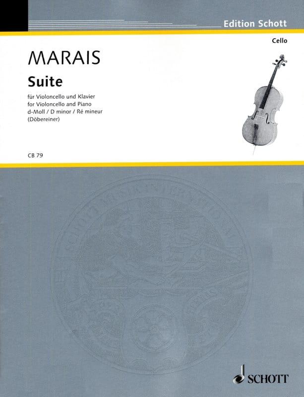 Marin Marais - Suite D minor - Partition - di-arezzo.com
