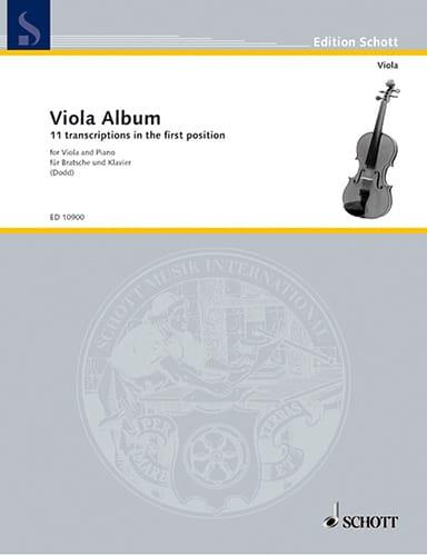 Viola Album - compositeurs Divers - Partition - laflutedepan.com