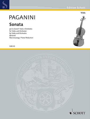 Sonata per la Grand Viola e Orchestra - PAGANINI - laflutedepan.com